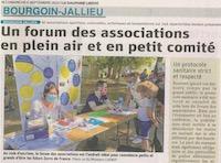 Retour sur le Forum des association de Bourgoin-Jallieu
